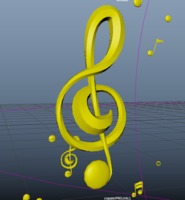 Music Notes Pro 1.0.0 for Maya