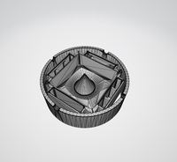 Ashtray & Debowler 3D Model