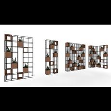 plant shelf 3D Model