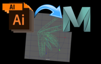 AI Sequence Importer 1.0.0 for Maya (maya script)