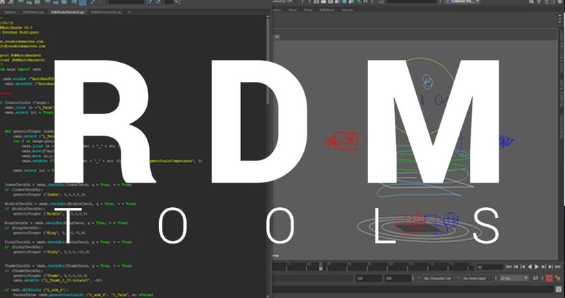 RdM Tools 2019 for Maya - Free Character Scripts / Plugins