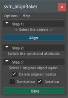 svm_alignBaker 0.0.1 for Maya (maya script)