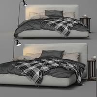 Magnum Bed By FlexForm 3D Model