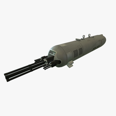 Gun Pod GUV-8700 3D Model