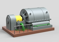 Industrial Turbocharger 3D Model