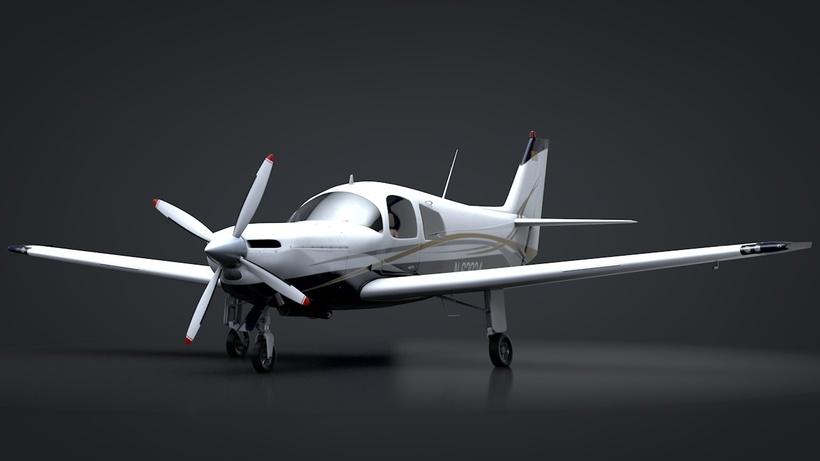 Ruschmeyer R90 230RG C4D Rigged 3D Model