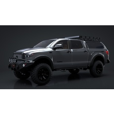 2012 Toyota Tundra Offroad C4D Rigged 3D Model