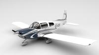 AA5A Grumman Cheetah Modern 3D Model