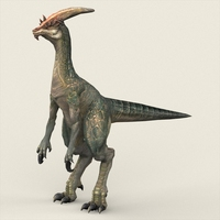 Fantasy Monster Dinosaur 3D Model
