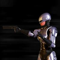 Robocop-girl 3D Model