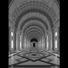 """""""White Hall 03"""" 3D Model"""