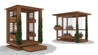 Alcoves 3D Model