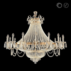 Classic Lustr (Ceiling Light) 3D Model