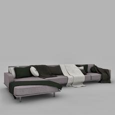 Sofa Seat 3D Model