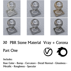 30 PBR Stone Materials 1