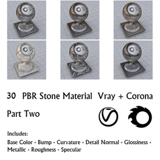 30 PBR Stone Materials 2