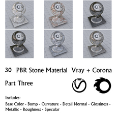 30 PBR Stone Materials 3