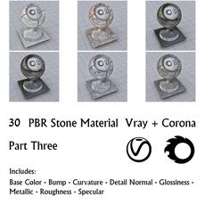30 PBR Stone Materials 3