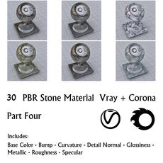 30 PBR Stone Materials 4