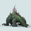 14 00 53 855 fantasy monster lizard 04 4