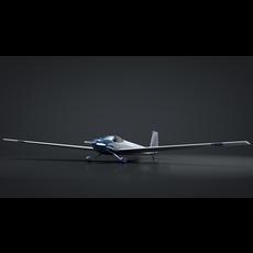 Falke SF-25 Taildragger Motorglider 3D Model