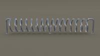 Spiral Bike Stand 3D Model