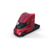 Tesla Semi Truck with Interior Red 3D Model