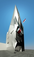 Monaco House 3D Model