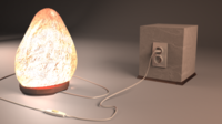 Himalayan Salt Lamp 3D Model