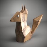 chipmunk 3D Model