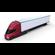 Tesla Truck Red w trailer 3D Model