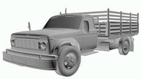 Hybrid Tuck N-001 3D Model