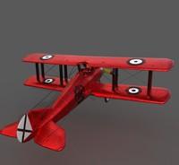 E1 Plane 3D Model