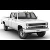 02 19 40 508 generic pickup truck 5 rendero 4