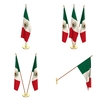 Mexico Flag Pack 3D Model
