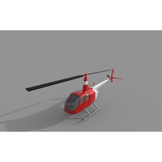 Helicopter Tourism 3D Model