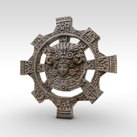 Ancient carved wall artefact 3D Model