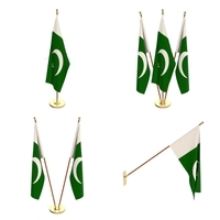 Pakistan Flag Pack 3D Model