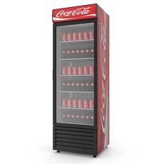 Soda Refrigerator 3D Model