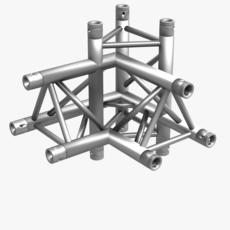 Triangular Truss Corner Junction 102 3D Model