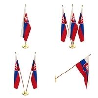 Slovakia Flag Pack 3D Model