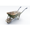 Dirty Wheelbarrow 3D Model