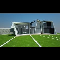 House Model - Badgers View Farm 3D Model