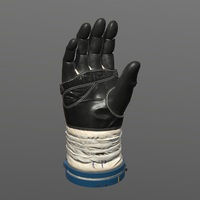 Astronaut Glove 3D Model