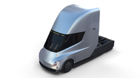 Tesla Truck Silver 3D Model
