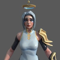 Fortnite Angel 3D Model
