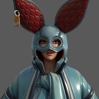 Fortnite Animal Jacket 3D Model