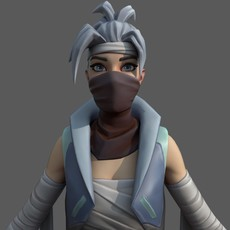 Fortnite Bandage Ninja 3D Model