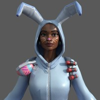 Fortnite BunnySuit 3D Model