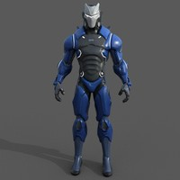Fortnite Carbide 3D Model